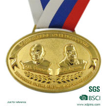 Заливки формы изготовленный на заказ сплава цинка медальон для спорта