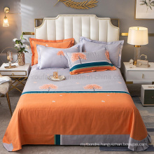Home Product Cotton Double Bed Sheet Set Cheap Price for Bedding Set