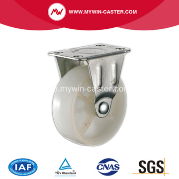 1 '' Light Duty Rigid White PP Industrial Caster