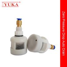 Válvula de drenaje automático en el compresor de aire