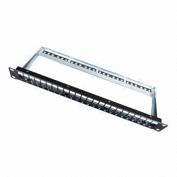 24-Port Blank Patch Panel with OEM/ODM Orders Welcomed