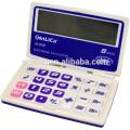 JS-2008 Calculatrice de poche de 8 chiffres avec une fonction de minuterie