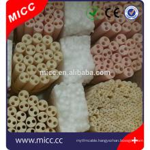Round 95% Exterior 6mm Length 80mm Ceramic Insulation Beads