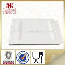White square ceramic wholesale dinner plates Porcelain dinner plate
