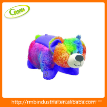 Panda proyector de luz de juguete, Animal Plush noche de luz juguetes