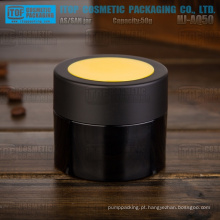 HJ-AQ50 50g cor personalizável da alta qualidade por atacado boião de creme plástico embalagens de cosméticos