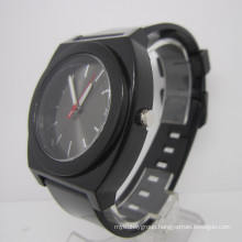 Fashion Silicone Band Alloy Watches (HLJA15017)