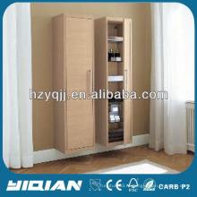Меламин Высокий Мебель Гостиная Боковой шкаф Высокий конец Тонкий бортовой шкаф