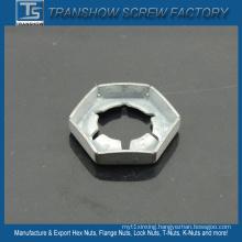High Strength Steel 65mn Self Locking Tight Nuts