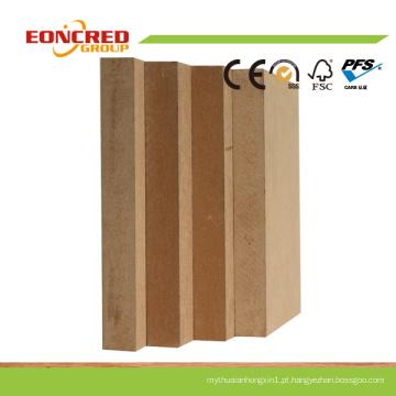 Placa MDF/Plain MDF/MDF cru E1, E2, Carb P2