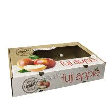 Custom Cmyk Printing Fruit Packaging Box with Window