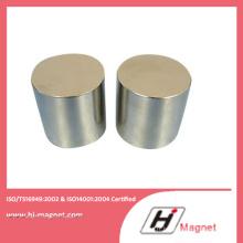 La Chine cylindre aimant de NdFeB fabricant échantillon gratuit N50 néodyme aimants permanents