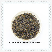 Certified Premium Jasmine Flowery Black Tea Loose Leaf Tea EU Complaint Organic Stand for USA (NO. 1)
