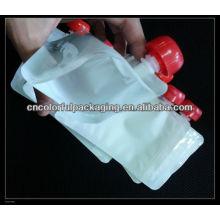 Bolsa de alimento para bebé, bolsa de alimento reutilizable 150ml, bolsa de succión ziplock