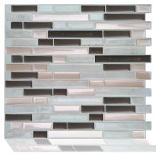Smart decorative peel and kitchen tile sticker mosaic