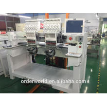 1202C industrial sale price flat hat 2 head computerized embroidery machine