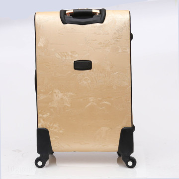 Mode trendy PU lederen trolley tas bagage