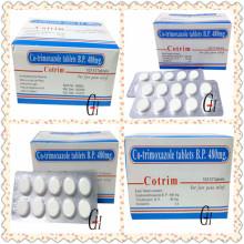 Tabletas antimicóticas de cotrimoxazol