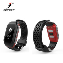 0.96 OLED Display ECG PPG Smart Watch with Heart Rate Monitor /Blood Pressure Watch