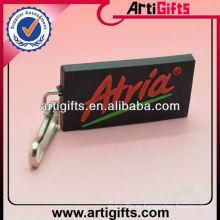 Cheap tirador de cremallera de logotipo personalizado pvc suave
