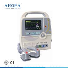 Monitor sincronizado asincrónico manual del desfibrilador del hospital de la oscilación automática AG-DE001C para la venta