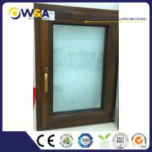 Fenêtre résidentielle en aluminium coulissante à prix compétitif avec SGS approuvée