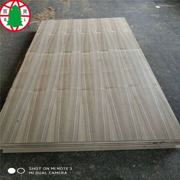 Linyi  1220*2440*5mm  Natural Teak veneer Plywood