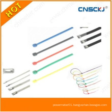 Green Color Nylon Cable Ties