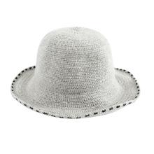 Chapéu de malha de malha feminina para meninas por atacado
