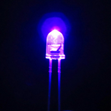 5mm UV LED 420nm Hål LED-Epileder Chip