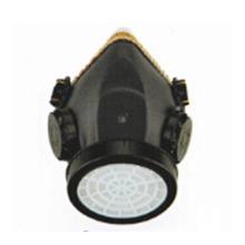 Único tanque de seguridad Uso de polvo Respirador