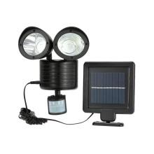 Super Bright Waterproof Solar Powered Motion Sensor Light 22 LED Dual Head Spotlight  Light for Garden