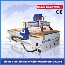 Jinan ELE1325 cnc router grabado en madera para cortar madera, acrílico, aluminio