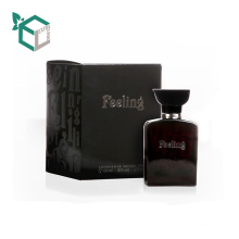 Beautiful Elegant Package Paper Small Perfume Box With Logo