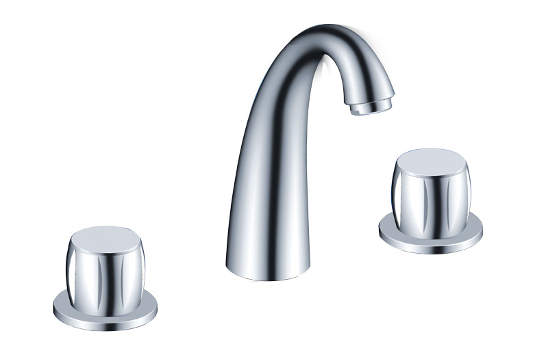 BASIN CHROME FINISH FAUCET