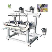 Machine à plastifier automatique à trois places pour PVC/PU/TPU/EVA