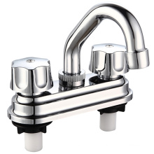 """4"""" Chromed ABS Basin Faucet with Two Handle"""