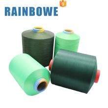 Vente chaude professionnelle 40150 / 96F spandex recouvert de fil de polyester filé