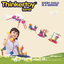 Детские игрушки Play Set Лучшие образовательные игрушки DIY пластиковые блоки