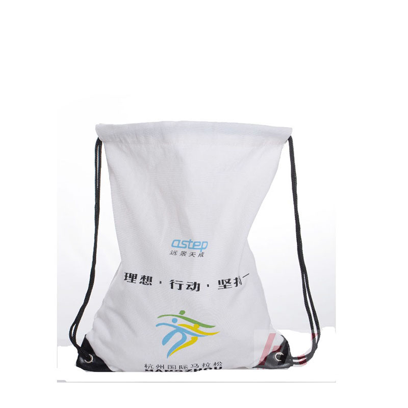 white economic cotton bags