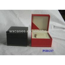PU Leder Uhrenbox für einzige Uhr mit verschiedenen Farb-Optionen