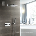 HIDEEP Thermostatic Two Function Shower Faucet Set