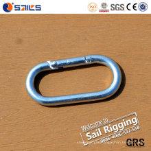 Carbon Steel Zinc-Plated Spring Carabiner