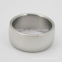 Supply Bulk Unisex Stainless Steel Plain Finger Rings
