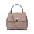 Pure Color Elegant Girls Trend Tote Bolsos de noche