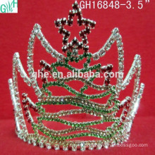 Stars in the beautiful Christmas tree crown,five stars crown