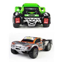 Mais novo 2,4 G 01:18 escala 4WD RC elétrico alta velocidade caminhão