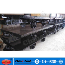 20T railway flatbed trailer for mining brand chinacoal manufacture