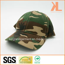 Perceuse en coton Armée / Militaire Green Camouflage Summer Baseball Cap