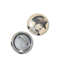 50mm SGS Factory Custom Logo Tin Badge Pin Button Badge
